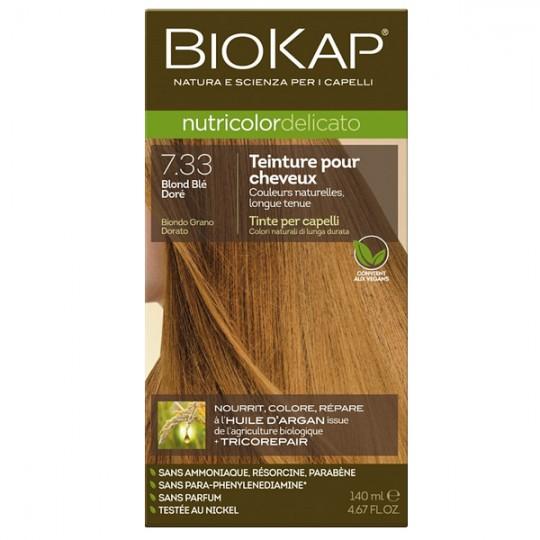 Coloration 7.33 Blond Blé Doré - Delicato Biokap