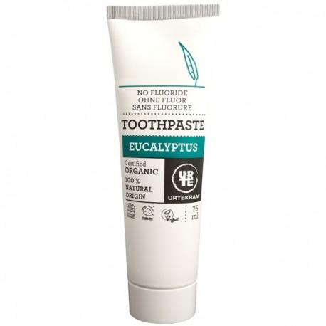 Dentifrice à l'Eucalyptus 75 ml bio - Sans Fluorure Urtekram
