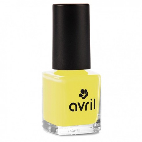 Vernis à Ongles Jaune Jonquille n°632 - 7ml - Avril Maqillage bio