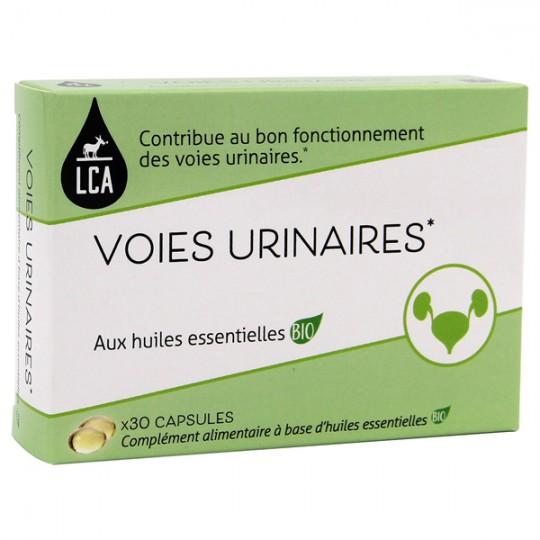 Capsules d'huiles essentielles - Confort Urinaire - Convient également aux hommes. Pour favoriser l'élimination rénale