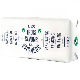 Pack de 3 savons 300gr - Tonifiant, Relaxant, Exfoliant
