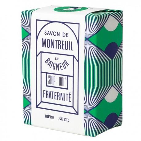Savon Fraternité 100gr - Bière et Farine d'Orge - Le Baigneur Montreuil