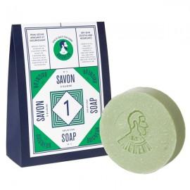 Savon à Barbe n°1 - Aloe Vera et Argile verte (Peau sèche)