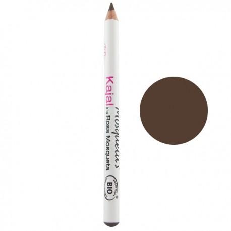 Crayon Yeux Kajal - Brun mosqueta's ou acheter un bon crayon pour les yeux de type kajal pas sec