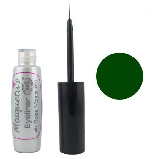 Eyeliner Vert Bio à la Rose Musquée - 5ml - Mosqueta's