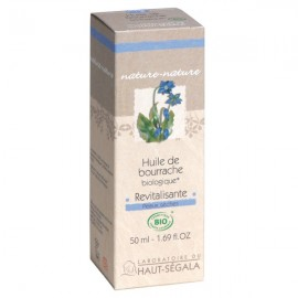 Huile de Bourrache Bio 50 ml - Revitalisante