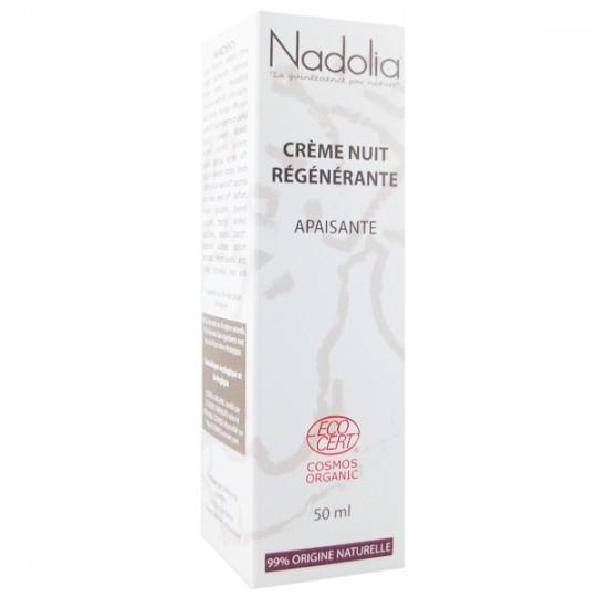 Crème de Nuit Bio Régénérante 50 ml - Apaisante*