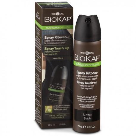 Spray Retouche 75 ml - Noir Spray contre l'effet racine avis ou acheter sans parabène