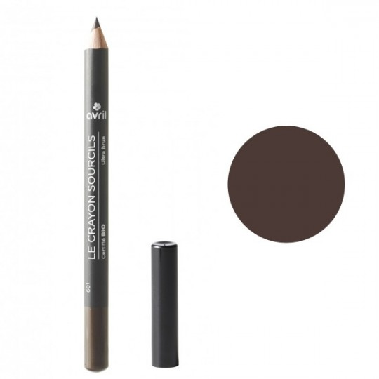 Crayon Sourcils Bio - Ultra Brun Avril Maquillage bio