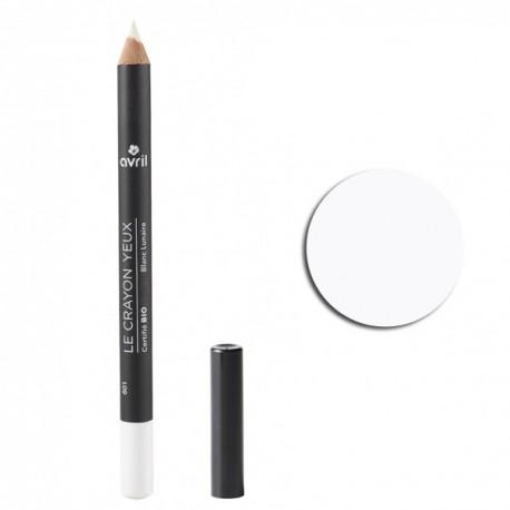 Crayon pour les yeux bio -Blanc Lunaire
