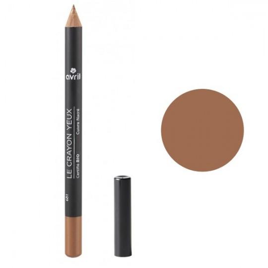 Crayon pour les yeux bio - Cuivre Nacré - Avril Beauté Maquillage