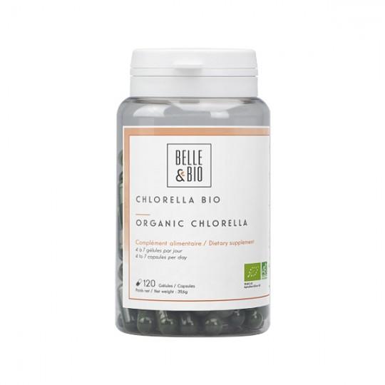 Chlorella Pyrenoïdosa 200 gélules - Complément pour détoxifier l'organisme et contre la fatigue