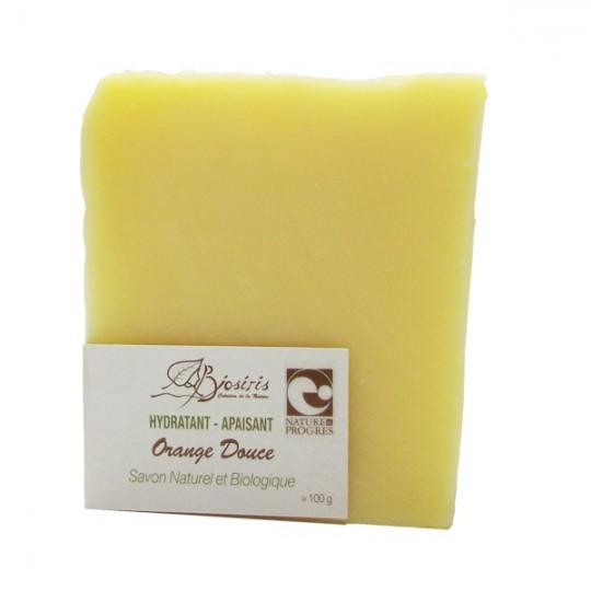 Savon Doux à l'orange Douce - Hydratant & Apaisant