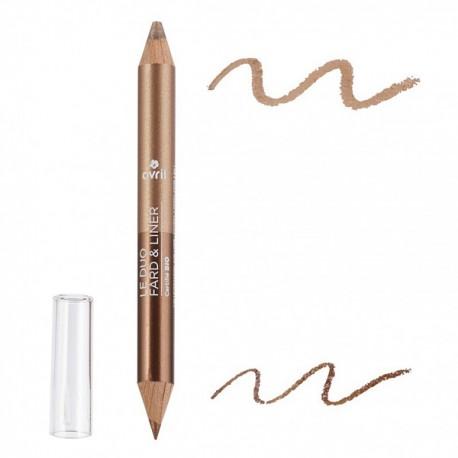 Duo fard & liner Bronze Cuivré/Beige Doré