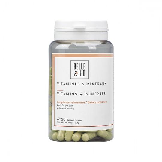 Complexe Vitamines et Minéraux - 120 gélules
