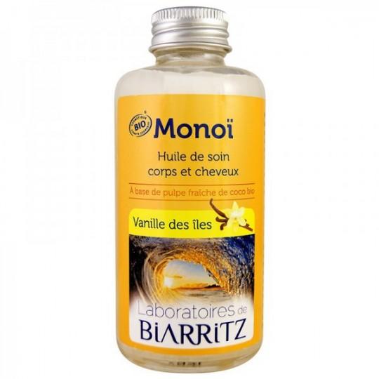 Huile de Monoï 100 ml - Vanilles des îles pour le bronzage