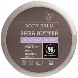 Beurre corporel à l'huile d'argan et à la lavande 140 ml - Peaux sensibles