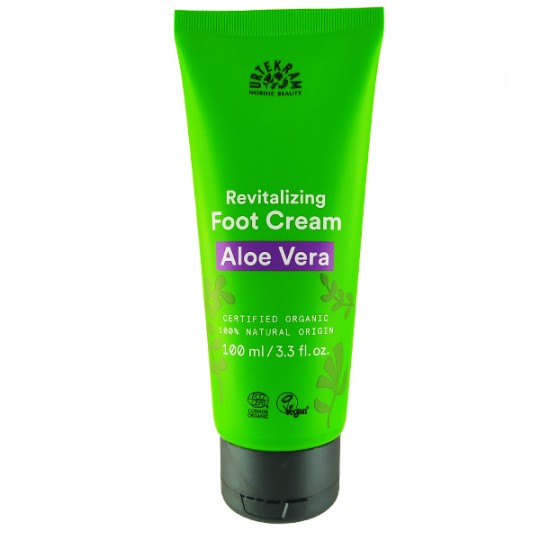 Crème hydratante pour les pieds à l'Aloe Véra 100 ml - Régénérante