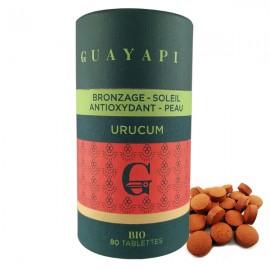 Poudre d'Urucum (Bixa Orellana) 80 Tablettes - Antioxydant
