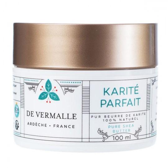 Beurre de Karité bio 100 ml - Pur et Non raffiné