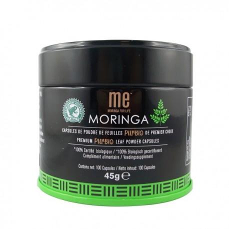 Capsules poudre de Moringa Pur Bio - Premium