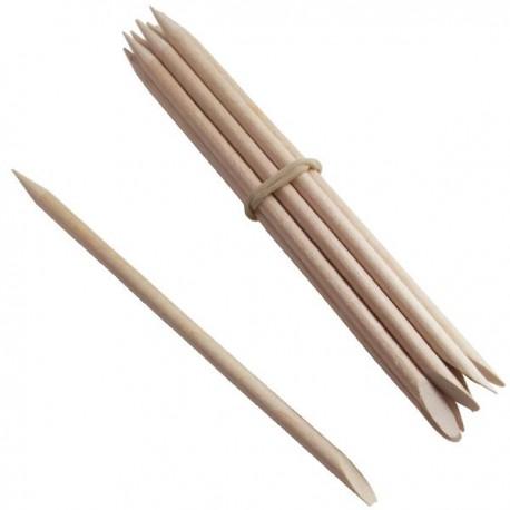 Lot de 10 Bâtonnets Repousse Cuticules