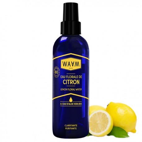 Eau florale de Citron Bio 200 ml - Purifiante et antioxydante