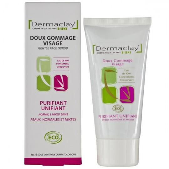 Gommage doux Purifiant et Unifiant 75ml - Peaux Normales à Mixtes