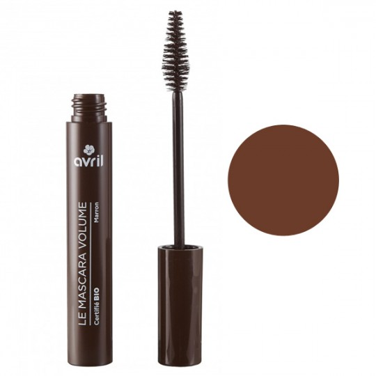 Mascara Marron Bio Volume Avril Maquillage bio