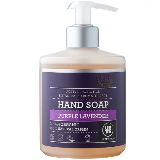 Savon liquide Mains Lavande Purple 380 ml - Mains sèches