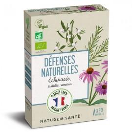 Ampoules Bio Défenses naturelles 20x10ml - Aux plantes françaises