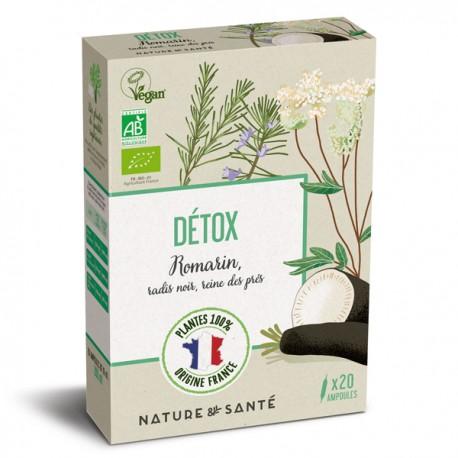 Ampoules Bio Détox 20x10ml - Aux plantes françaises