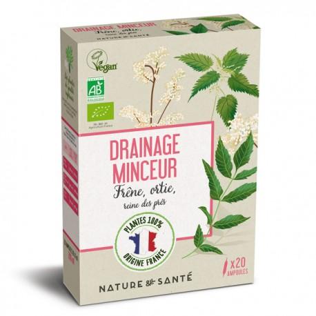Ampoules Bio Drainage Minceur 20x10ml - Aux plantes françaises
