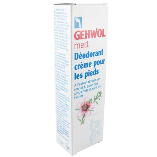 Crème déodorante 24h Pieds 75 ml - Aux extraits de Manuka et au Zinc