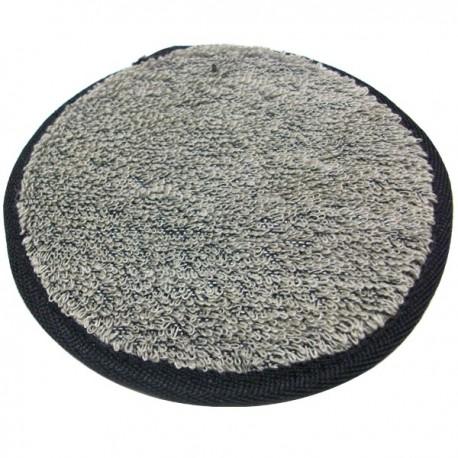 Éponge ronde exfoliante en ramie - 14 cm