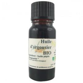 Huile de pépins d'Argousier Bio 100% pure 10ml