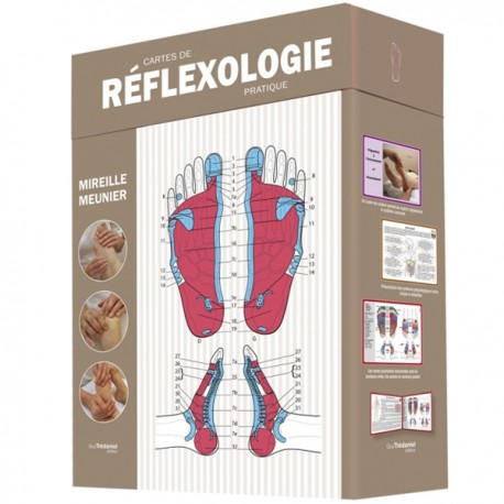 Cartes de Réflexologie Pratique - Mireille Meunier