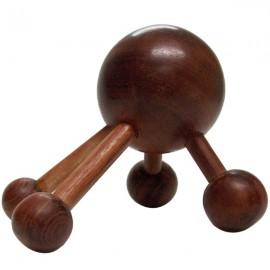 Boule en bois 4 points de massage – Dos