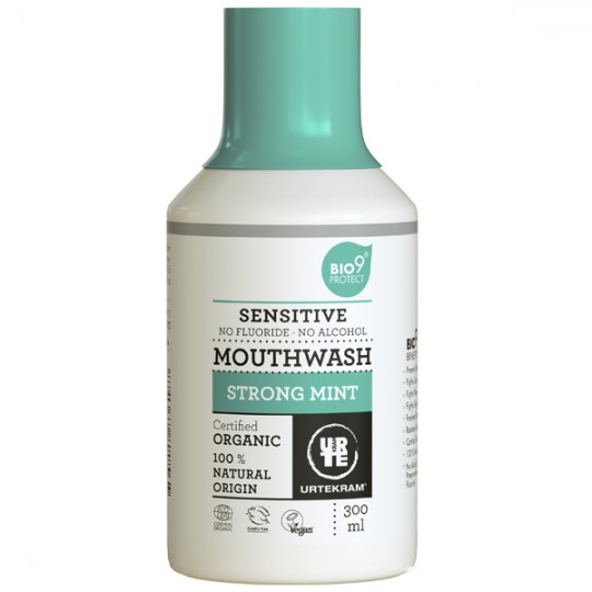 Bain de Bouche Bio à la Menthe forte 300 ml - Sensitive Bio9®