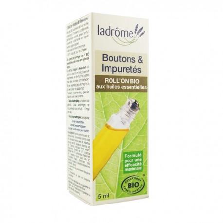 Roll'On Bio 5ml - Boutons et Impuretés
