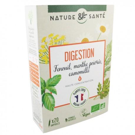 Ampoules Bio Digestion 20x10ml - Aux plantes françaises
