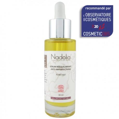 Sérum Rééquilibrant Bio Anti-imperfections - Traitement contre l'acné adulte