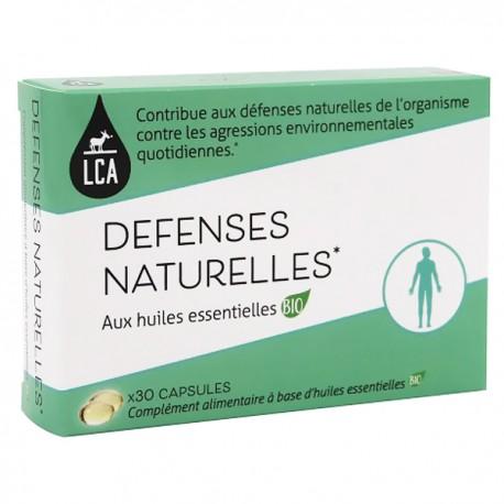 Capsules d'huiles essentielles Bio — Défenses Naturelles