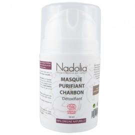 Masque Purifiant Bio Charbon 50 ml – Détoxifiant*
