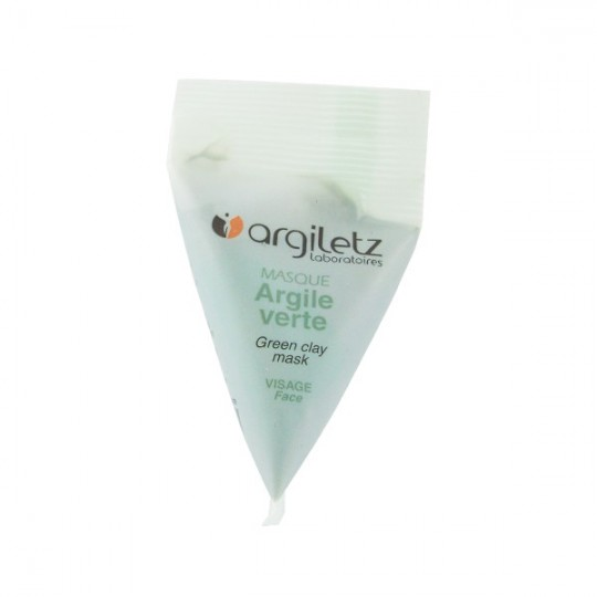 Masque Visage Argile Verte - Berlingot 15ml