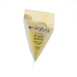 Masque Visage Argile Jaune - Berlingot 15ml