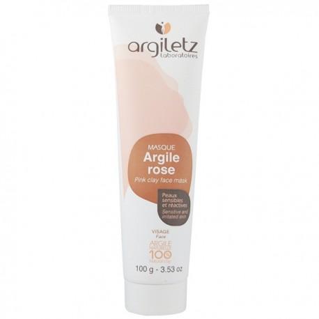 Masque Visage Argile Rose 100g - Peaux sensibles et réactives