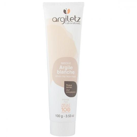 Masque Visage Argile Blanche 100g - Peaux ternes et sensibles