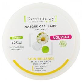 Masque Capillaire Soin Brillance 125ml - Éclat et Nutrition