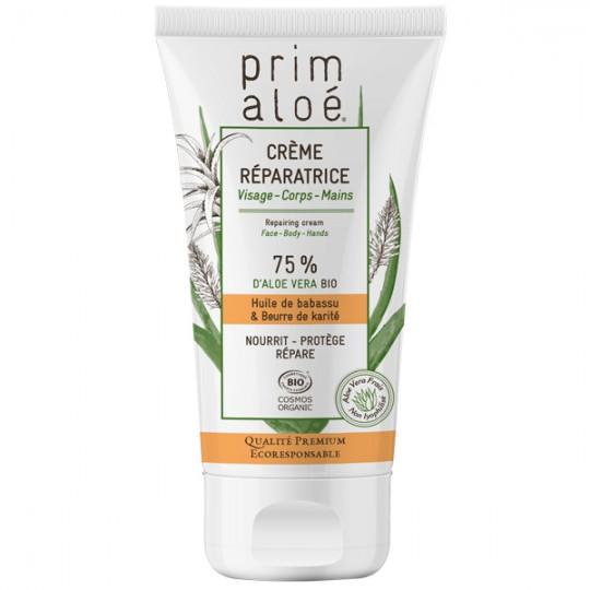 Crème Réparatrice Universelle 150 ml - 75% Aloé Vera Bio